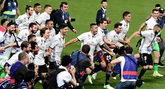İspanya'da şampiyon Real Madrid