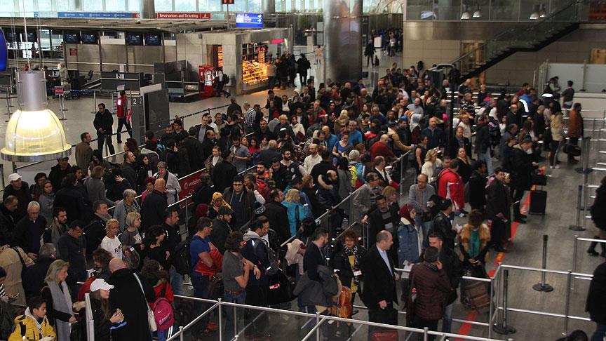 Türkiye'ye 4 ayda 10 milyon yolcugirişi