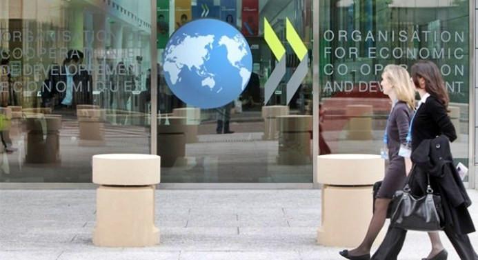 OECD bölgesinde yıllık enflasyon düştü