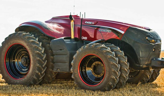 İnsansız traktörler