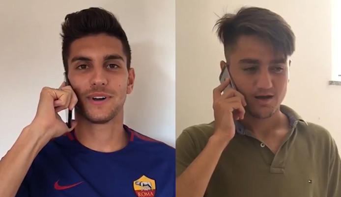 "Roma'dan Cengiz Ünder'e ""ComeToRoma"" videosu"