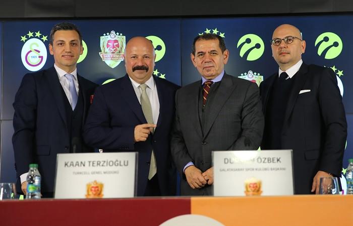Galatasaray ile Turkcell arasında iş birliği