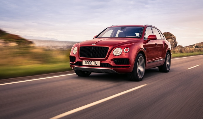 Bentley'in 'en sportif' Bentayga V8 modeli