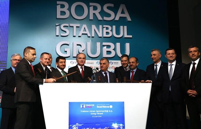 Borsada gong Trabzon Limanı için çaldı