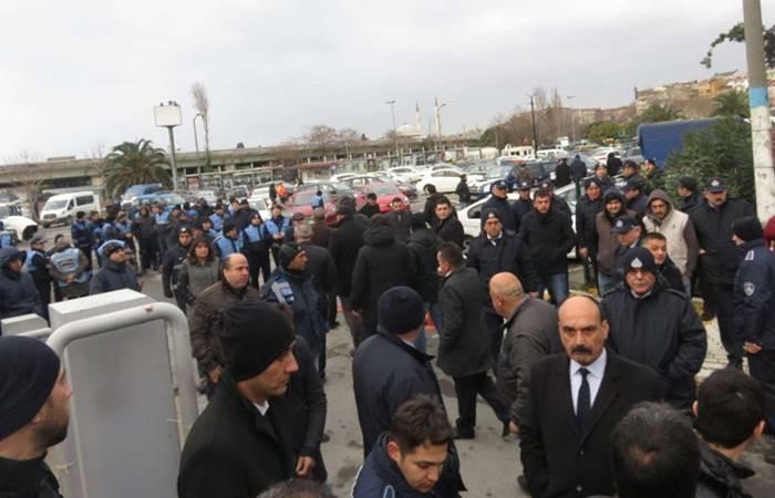 Kadıköy'de otopark gerginliği