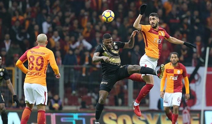 Galatasaray'dan iki gollü galibiyet