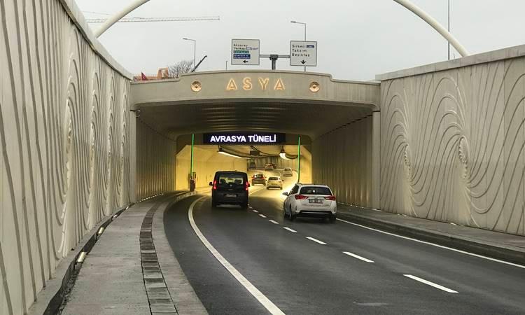 Avrasya Tüneli, bu yıl taahhüt rakamı 68 bin 500 geçişe ulaşacak