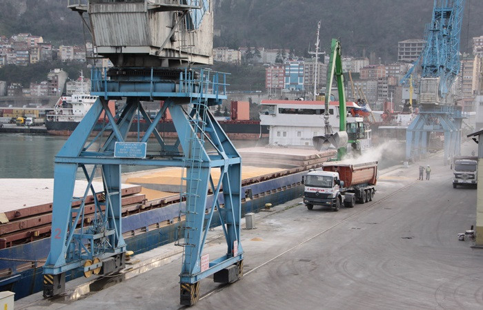 Trabzon'dan 1 milyon ton hububat ihracatı