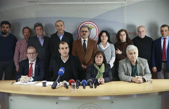 TTB üyeleri: Arkadaşlarımızı serbest bırakın
