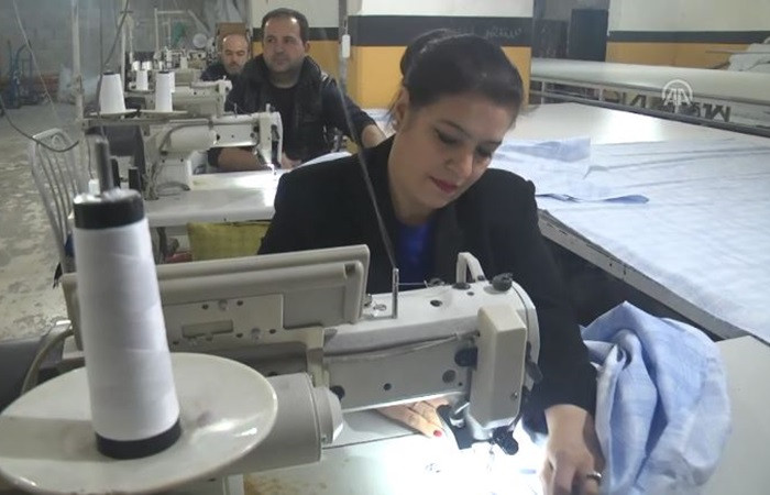 """Tekstil işçisi """"Aliye"""" yorganda marka oldu"""