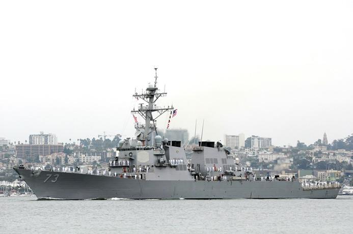 Çin'den ABD savaş gemisine önleme
