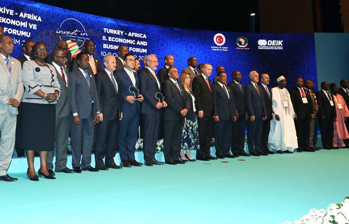 Afrika'da 6,2 milyar dolar Türk yatırımı
