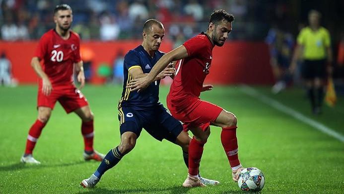 Millilerin hazırlık maçında gol sesi çıkmadı
