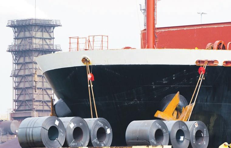 Türkiye çelik ihracatı 8 ayda 9.6 milyar dolara ulaştı