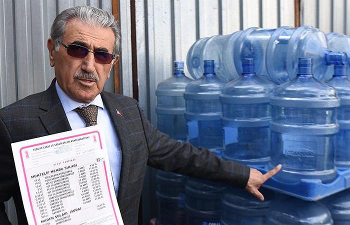 Su satışında tavan fiyat belirlendi
