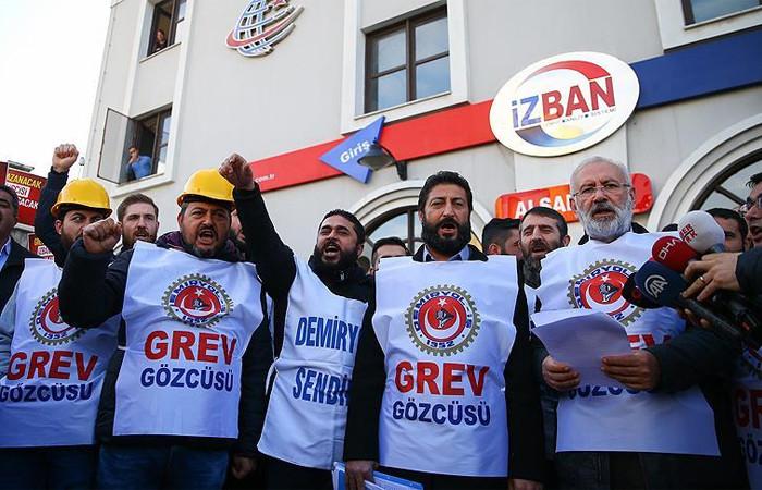 Demiryol-İş İzmir Şube Başkanı Ervüz: İşveren grev kırıcılığı yapmak istiyo