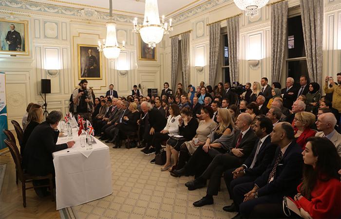 Cumhurbaşkanlığı Londra'da panel düzenledi