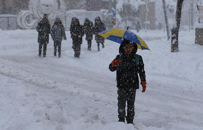 17 ilde eğitime kar tatili