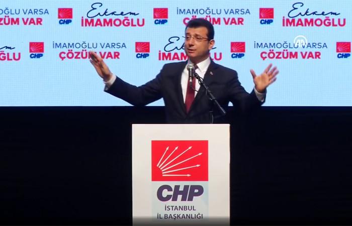 İmamoğlu: Yeni nesil belediyecilik vadediyoruz