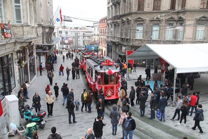 İstanbul'da turist rekoru bekleniyor