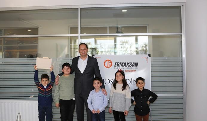 'Teknoloji çocukları' hayallerindeki Ermaksan'ı resmetti