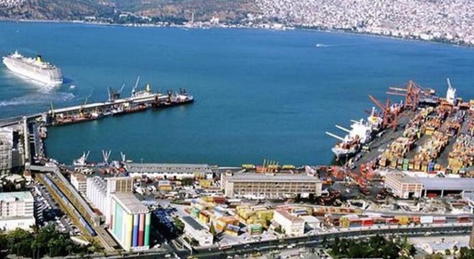 İzmir limanlarından konteyner yükü rekor
