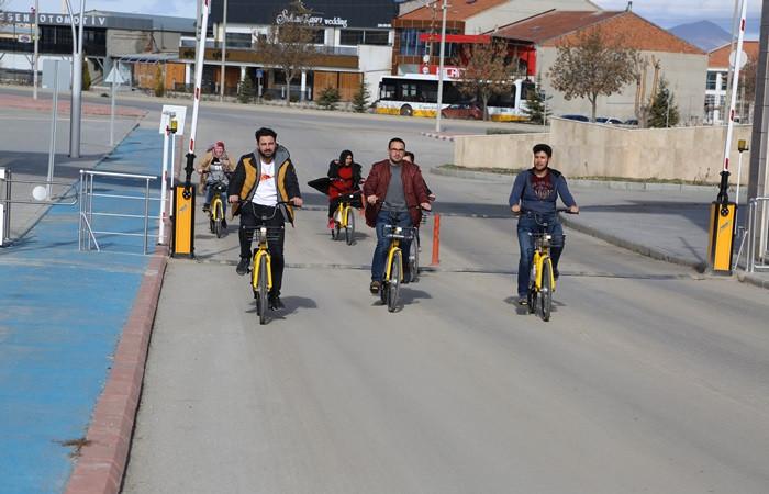 'Akıllı bisiklet' ile çevreci ulaşım