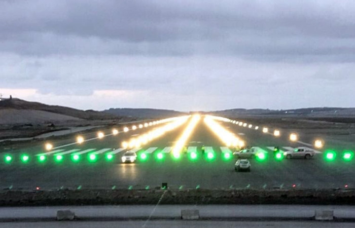 3. Havalimanı'nda tarihi an!