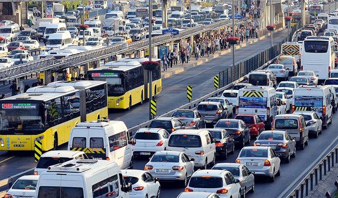 İstanbul'da ikinci yarıyıl trafiği