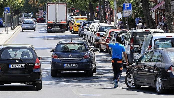 Ankara'da yeni otopark tarifesi: 24 saati 1 lira