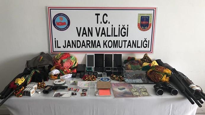 Van'daki terör operasyonunda 18 kişi gözaltına alındı