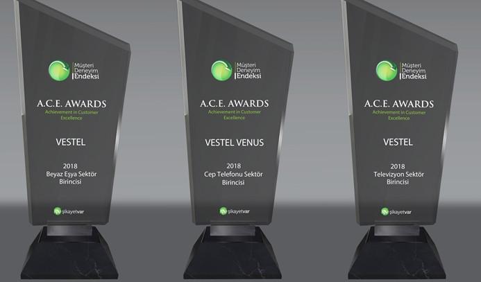 Vestel müşteri hizmetlerine ödül
