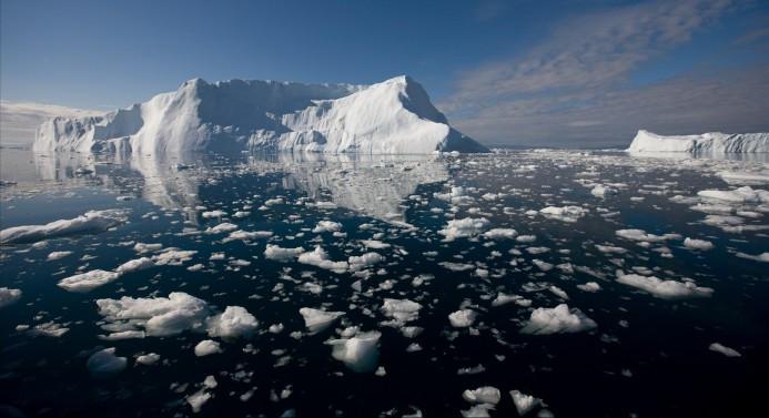 Arktik deniz buzu tarihin en düşük 2. seviyesinde