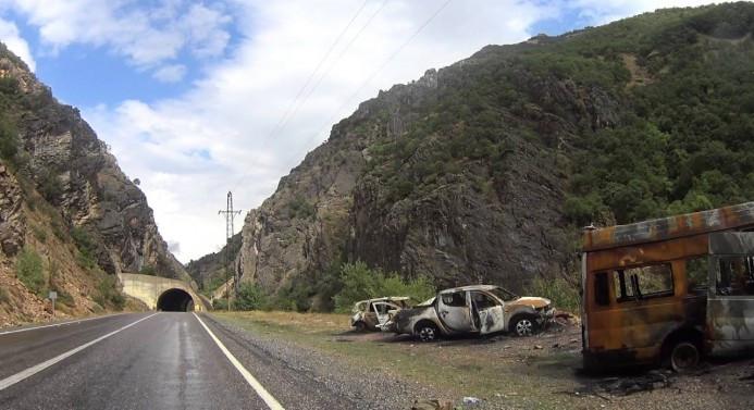 Tunceli'de çatışma çıktı, yol trafiğe kapatıldı