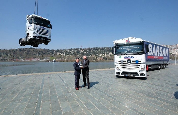 500 kamyon birden aldı