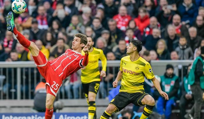 Bayern Münih'ten Borussia Dortmund'a 6 gol