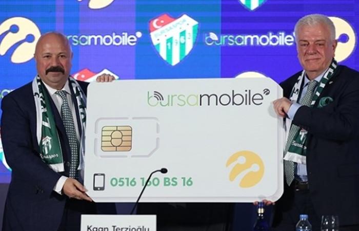 Turkcell'den Bursa'ya özel 'Bursa Mobile' hattı