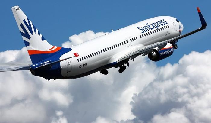 SunExpress İzmir uçuşlarında kapasite artırdı