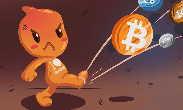 Kripto paraya Alibaba darbesi