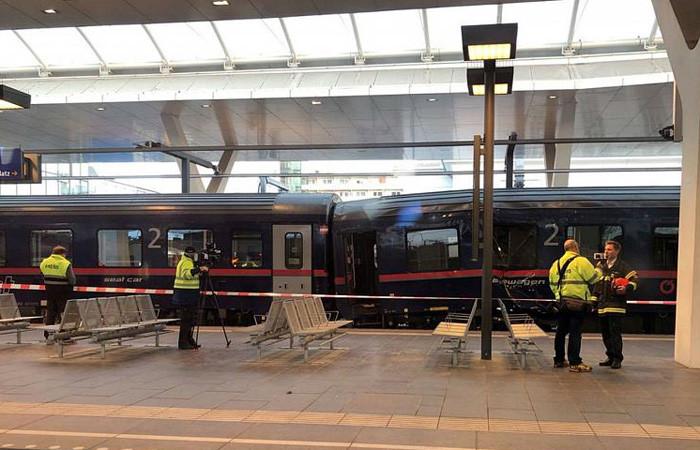 Avusturya'da tren kazası: 54 yaralı
