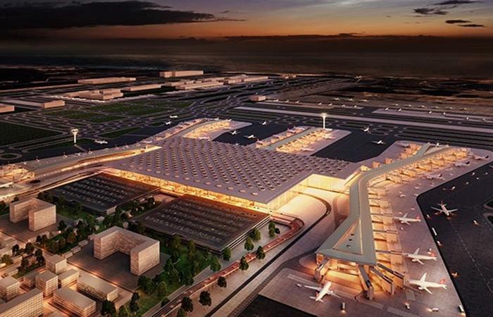 Yeni Havalimanı'nın ilk konuğu onlar oldu!