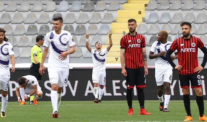 Ankara derbisi Osmanlıspor'un
