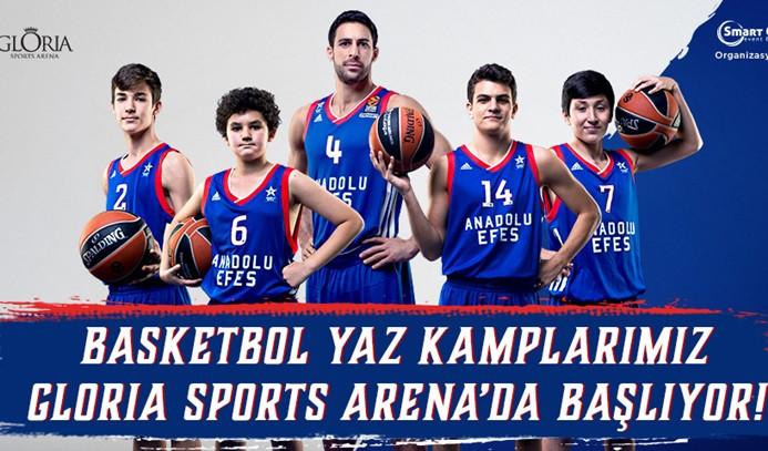 Anadolu Efes Spor Kulübü Basketbol Yaz Kampları'na yoğun ilgi