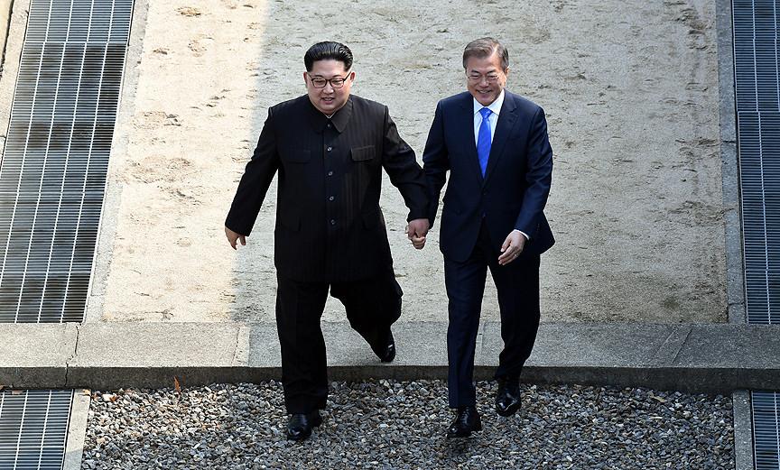 Kore'de tarihi buluşma