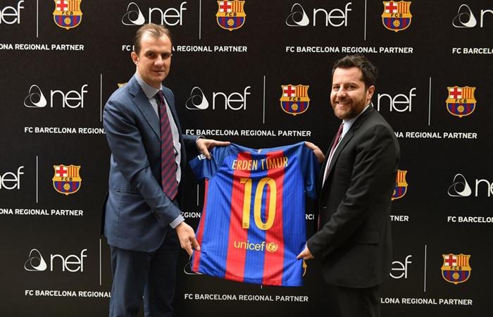 Barcelona, Nef ile gayrimenkule girecek