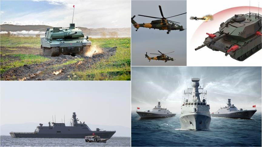'Savunma ve havacılık'ta ihracatı 5 şehir sırtladı
