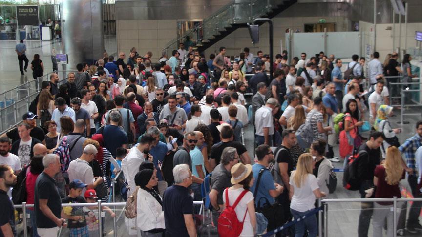 Sabiha Gökçen'de yolcu sayısı 4 ayda 10,6 milyona ulaştı