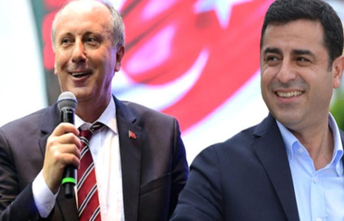 Demirtaş'tan Muharrem İnce'ye espri