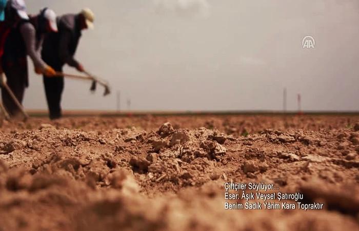 Dünya Çiftçiler Günü'ne özel klip
