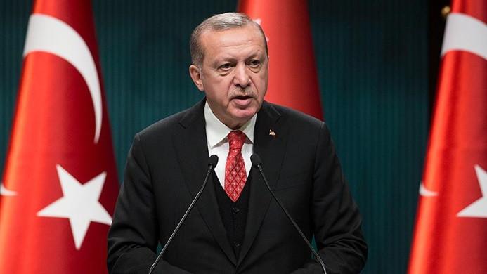 Erdoğan: Afrin'de 4 bin 464 terörist etkisiz hale getirildi